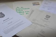 Papierkram Studium